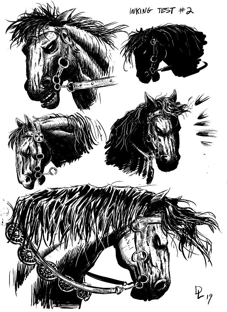Death Dealer horse 1